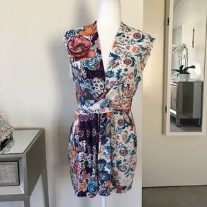 LF Three Days printed sleeveless dress